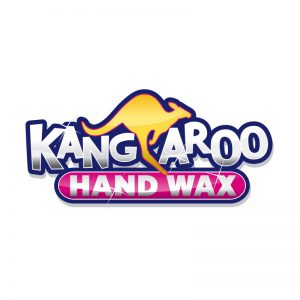 Kangaroo Wax Logo by E. Christian Clark Design