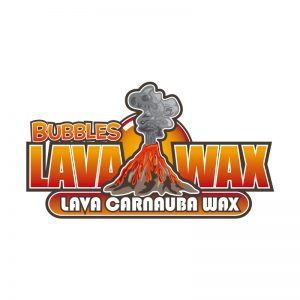 Lava Wax Logo by E. Christian Clark Design