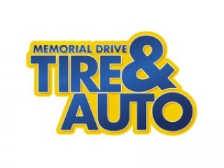 Memorial Drive Tire & Auto Logo by E. Christian Clark Design