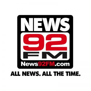 News 92 FM Logo by E. Christian Clark Design