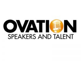 Ovation Speakers and Talent Logo by E. Christian Clark Design