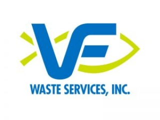 VF Waste Services Logo by E. Christian Clark Design