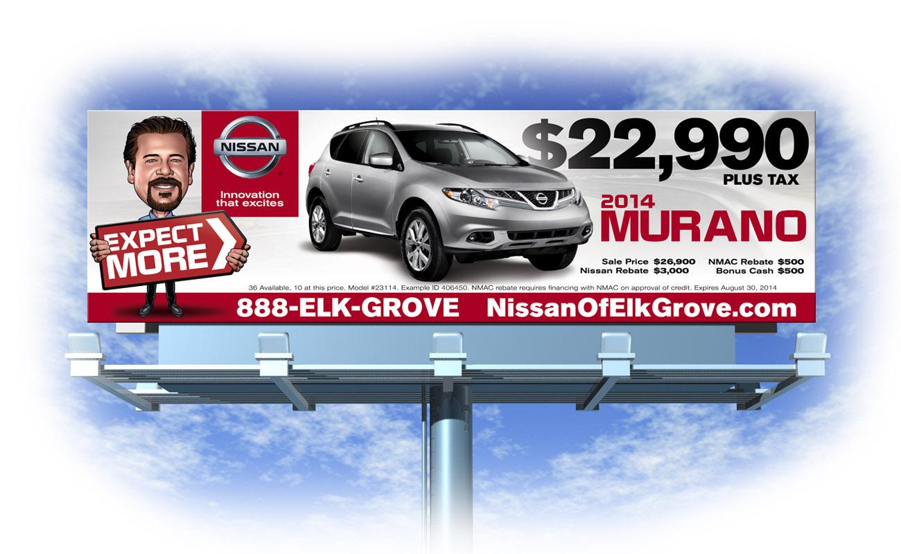 Houston Nissan Dealerships >> BILLBOARDS - E Christian Clark